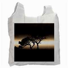 Sunset Recycle Bag (one Side) by Valentinaart