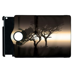 Sunset Apple Ipad 2 Flip 360 Case by Valentinaart