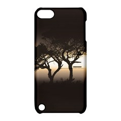Sunset Apple Ipod Touch 5 Hardshell Case With Stand by Valentinaart