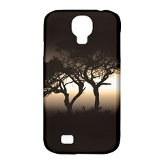Sunset Samsung Galaxy S4 Classic Hardshell Case (pc+silicone) by Valentinaart