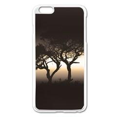 Sunset Apple Iphone 6 Plus/6s Plus Enamel White Case by Valentinaart
