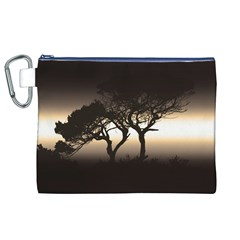 Sunset Canvas Cosmetic Bag (xl) by Valentinaart