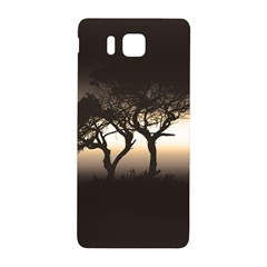 Sunset Samsung Galaxy Alpha Hardshell Back Case by Valentinaart