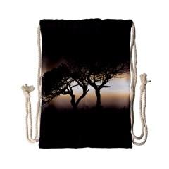 Sunset Drawstring Bag (small) by Valentinaart
