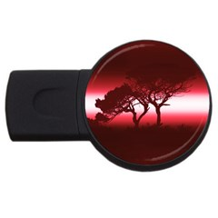 Sunset Usb Flash Drive Round (2 Gb) by Valentinaart