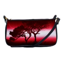 Sunset Shoulder Clutch Bags by Valentinaart