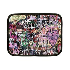 Graffiti Wall Pattern Background Netbook Case (small)