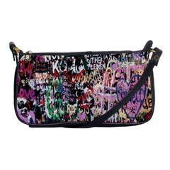 Graffiti Wall Pattern Background Shoulder Clutch Bags