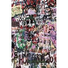 Graffiti Wall Pattern Background 5 5  X 8 5  Notebooks by Nexatart