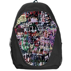 Graffiti Wall Pattern Background Backpack Bag