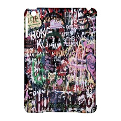 Graffiti Wall Pattern Background Apple Ipad Mini Hardshell Case (compatible With Smart Cover) by Nexatart