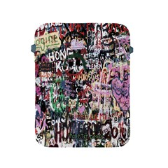 Graffiti Wall Pattern Background Apple Ipad 2/3/4 Protective Soft Cases