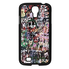 Graffiti Wall Pattern Background Samsung Galaxy S4 I9500/ I9505 Case (black)