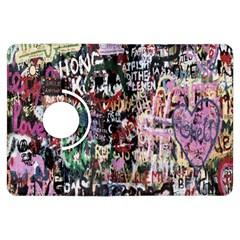 Graffiti Wall Pattern Background Kindle Fire Hdx Flip 360 Case by Nexatart