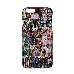 Graffiti Wall Pattern Background Apple Iphone 6/6s Hardshell Case by Nexatart