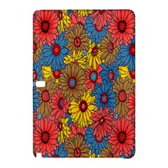 Background With Multi Color Floral Pattern Samsung Galaxy Tab Pro 12 2 Hardshell Case