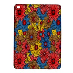 Background With Multi Color Floral Pattern Ipad Air 2 Hardshell Cases