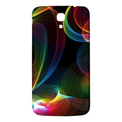 Abstract Rainbow Twirls Samsung Galaxy Mega I9200 Hardshell Back Case
