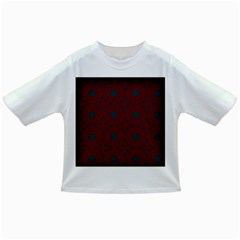 Blue Hot Pink Pattern With Woody Circles Infant/toddler T Shirts