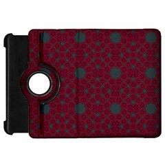 Blue Hot Pink Pattern With Woody Circles Kindle Fire Hd 7