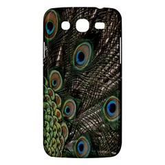 Close Up Of Peacock Feathers Samsung Galaxy Mega 5 8 I9152 Hardshell Case  by Nexatart