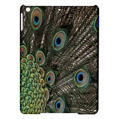 Close Up Of Peacock Feathers Ipad Air Hardshell Cases