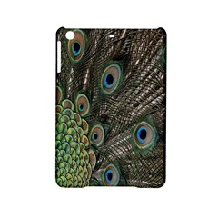 Close Up Of Peacock Feathers Ipad Mini 2 Hardshell Cases by Nexatart