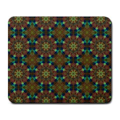 Seamless Abstract Peacock Feathers Abstract Pattern Large Mousepads by Nexatart