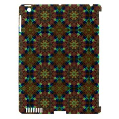 Seamless Abstract Peacock Feathers Abstract Pattern Apple Ipad 3/4 Hardshell Case (compatible With Smart Cover) by Nexatart