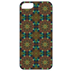 Seamless Abstract Peacock Feathers Abstract Pattern Apple Iphone 5 Classic Hardshell Case
