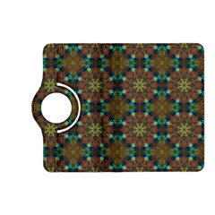 Seamless Abstract Peacock Feathers Abstract Pattern Kindle Fire Hd (2013) Flip 360 Case by Nexatart