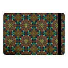 Seamless Abstract Peacock Feathers Abstract Pattern Samsung Galaxy Tab Pro 10 1  Flip Case by Nexatart
