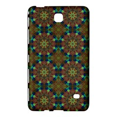 Seamless Abstract Peacock Feathers Abstract Pattern Samsung Galaxy Tab 4 (8 ) Hardshell Case