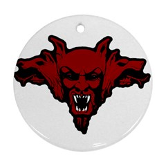 Dracula Ornament (round) by Valentinaart