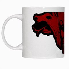 Dracula White Mugs by Valentinaart