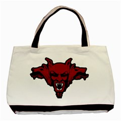 Dracula Basic Tote Bag by Valentinaart