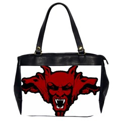 Dracula Office Handbags (2 Sides)  by Valentinaart