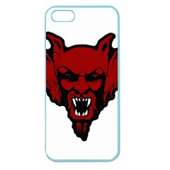 Dracula Apple Seamless Iphone 5 Case (color) by Valentinaart