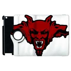 Dracula Apple Ipad 2 Flip 360 Case by Valentinaart