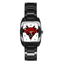 Dracula Stainless Steel Barrel Watch by Valentinaart