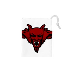 Dracula Drawstring Pouches (xs)  by Valentinaart