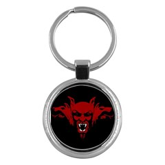 Dracula Key Chains (round)  by Valentinaart