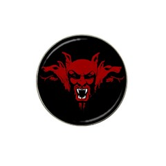 Dracula Hat Clip Ball Marker (4 Pack) by Valentinaart
