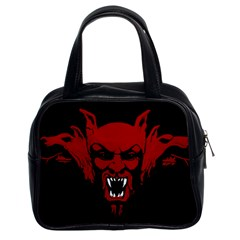 Dracula Classic Handbags (2 Sides) by Valentinaart