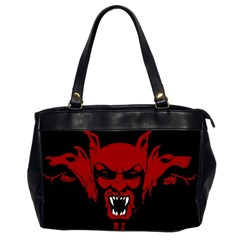 Dracula Office Handbags (2 Sides)  by Valentinaart
