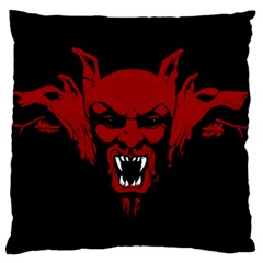 Dracula Large Cushion Case (two Sides) by Valentinaart