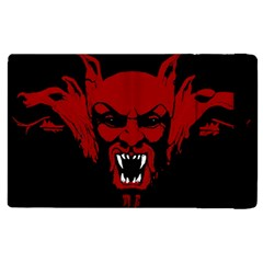 Dracula Apple Ipad 2 Flip Case by Valentinaart