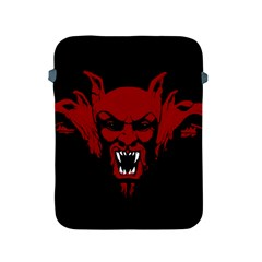 Dracula Apple Ipad 2/3/4 Protective Soft Cases by Valentinaart