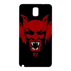 Dracula Samsung Galaxy Note 3 N9005 Hardshell Back Case by Valentinaart