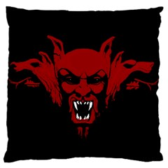 Dracula Standard Flano Cushion Case (two Sides) by Valentinaart